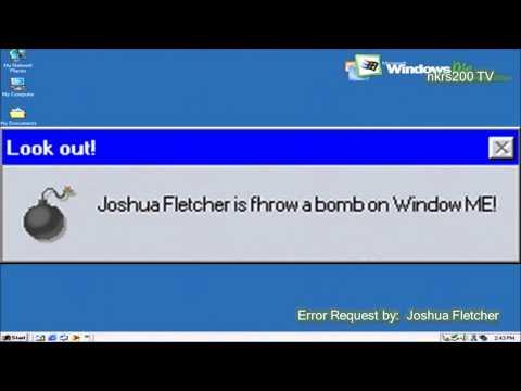 Microsoft Sam reads Funny Windows Errors Season 5 Episode 5