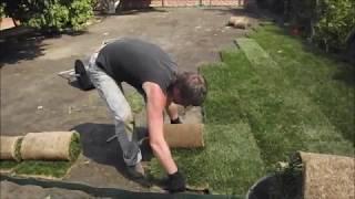Копия видео Укладка рулонного газона(, 2014-01-27T11:40:49.000Z)