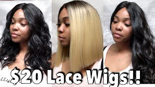 AFFORDABLE Wig Series #4| $20 Wigs| ft. Janet Lace Wigs