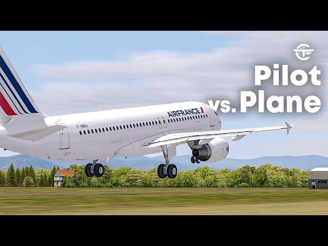 Pilot VS Plane | Airbus A320 Crash During An Airshow | Air France Flight 296