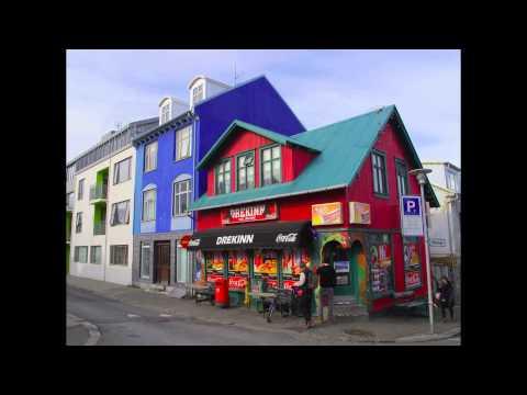 Las casas de colores de Reykjavik Islandia