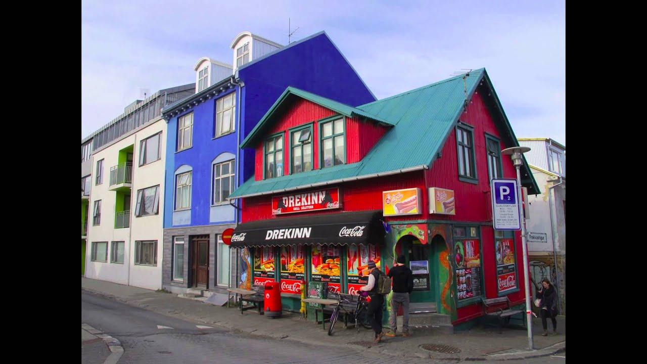 Las casas de colores de reykjavik islandia youtube - Casas en islandia ...
