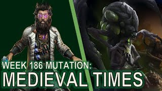 Starcraft II: Co-Op Mutation #186 - Medieval Times [ULTRALISK POWER]