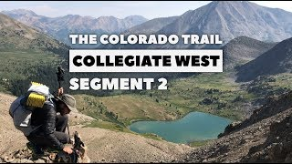 The Colorado Trail, COLLEGIATE WEST Segment 2: Sheep Gulch - Cottonwood Pass (CW: 9.8-35.7)