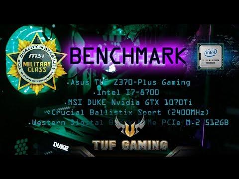 Montando um Novo PC i7-8700: Benchmarking