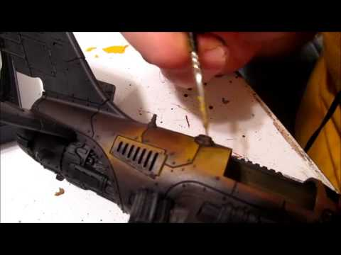 How to Paint Bad Moon Yellow