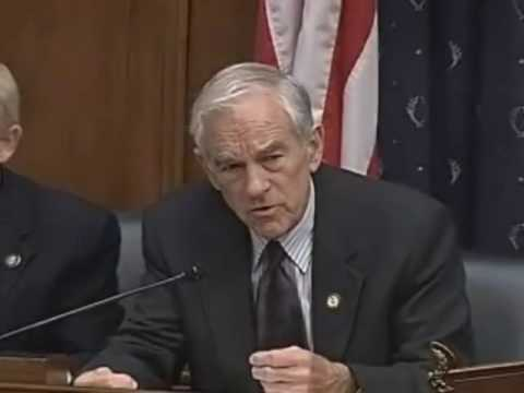 Ron Paul Q&A at House Financial Services Committee 7.16.2009 1/3