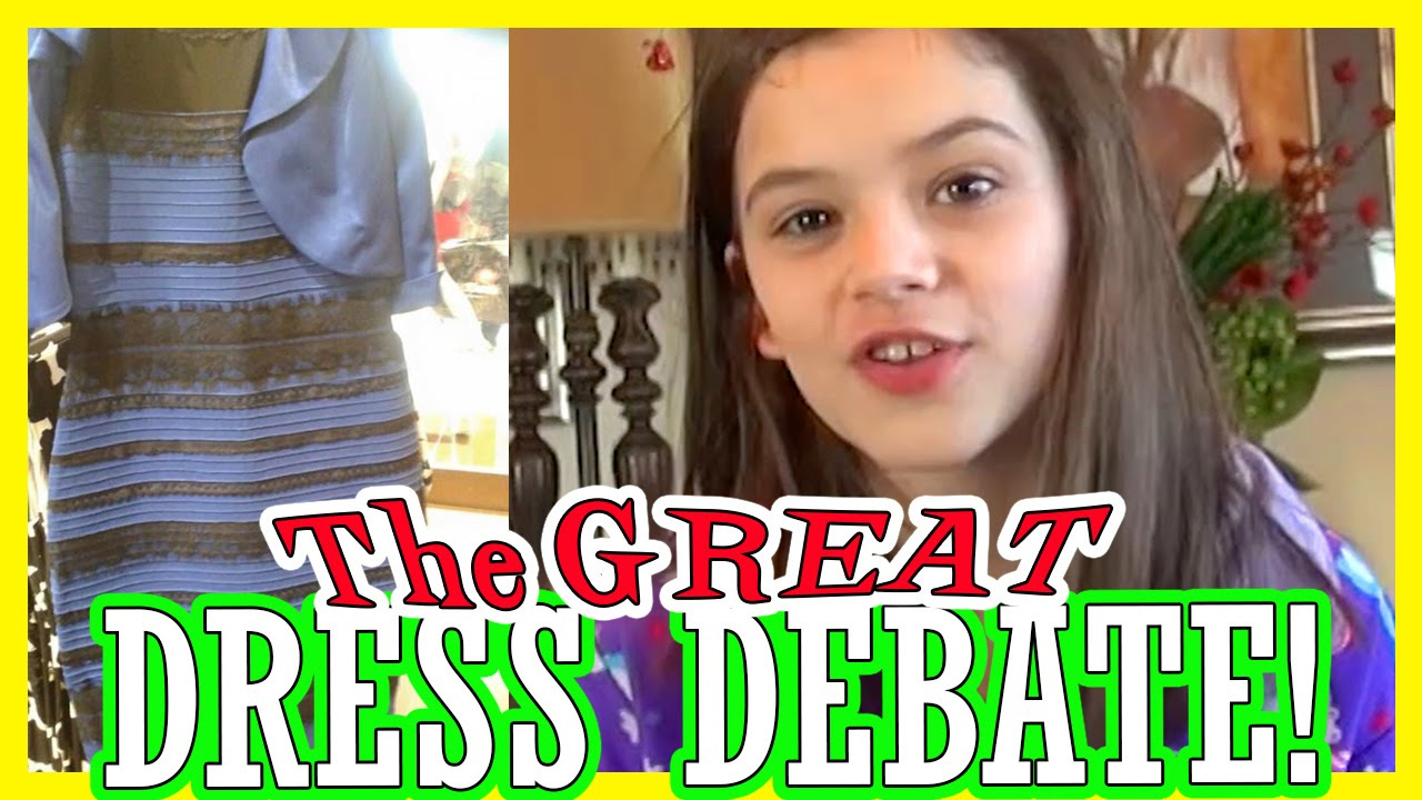 The dress debate - The Great Dress Debate Thedress Is It Blue Black Or Gold White Kittiesmama
