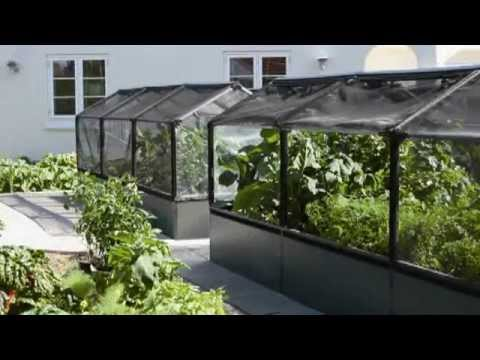 serre de jardin growcamp youtube. Black Bedroom Furniture Sets. Home Design Ideas