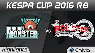 KDM vs KT Highlights Game 2 Kespa Cup 2016 R8 Kongdoo Monster vs KT Rolster thumbnail