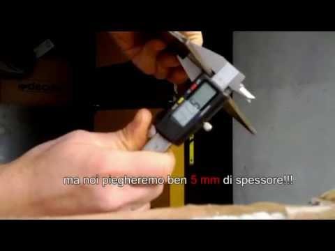 Pressa piegatrice mb48b 39 pan style 39 doovi for Pressa fai da te