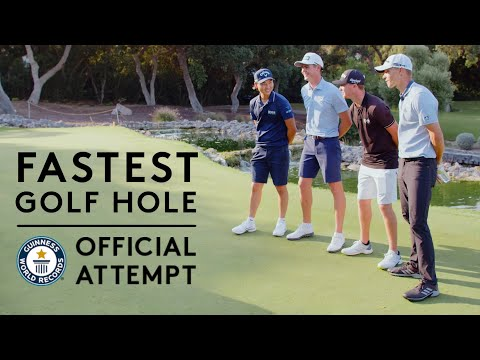 The Fastest Hole of Golf | Guinness World Records 2021 | Hero Challenge