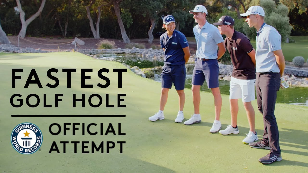 The Fastest Hole of Golf   Guinness World Records 2021   Hero Challenge
