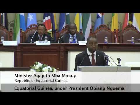 Minister Agapito Mba Mokuy of Equatorial Guinea Calls for Stronger South-South Cooperation