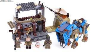 LEGO Star Wars Encounter on Jakku review! 75148