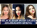 20 best ideas about black hair with light highlights spring 2018