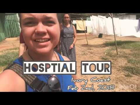 Hospital tour in Ferkessédougou, Ivory Coast