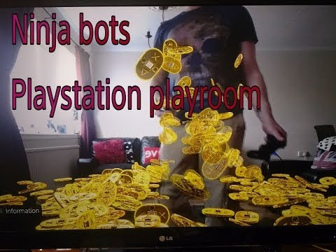 New! NINJA BOTS -  PLAYSTATION 4 (PS4) GAMEPLAY