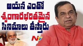 Brahmanandam about Om Namo Venkatesaya Movie Nagarjuna Anushka & Raghavendra Rao NTV