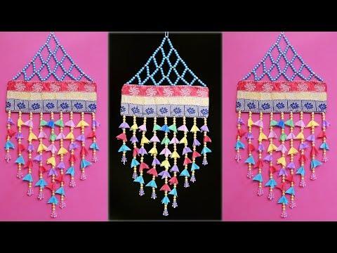 WOW !!! Shopping Bag Wall Hanging Craft Idea || Beautiful Room Decoration Idea || Handmade Things