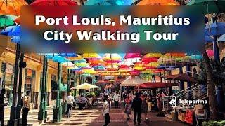 Walking Tour Mauritius Port Louis City Centre 2021