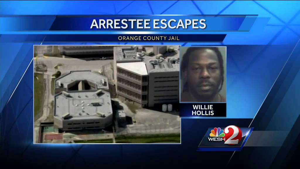 Prisoner escape from Orange County Jail