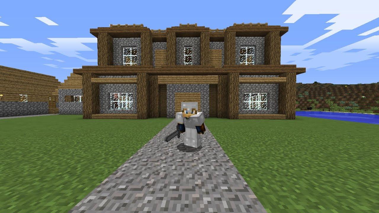 Joanferworld cap 8 mi primera casa serie de minecraft - Mi primera casa ...