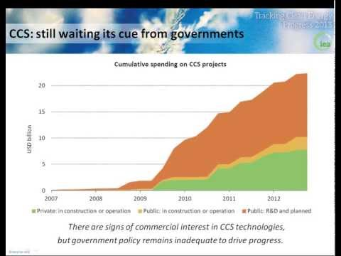 Webinar: Tracking Clean Energy Progress 2013