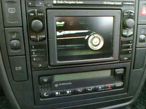 vw mfd navi ipod video with pccm ma box2 youtube. Black Bedroom Furniture Sets. Home Design Ideas