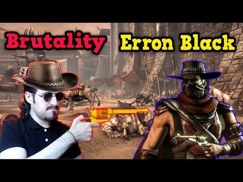 MKX   Как делать Brutality за Erron Black