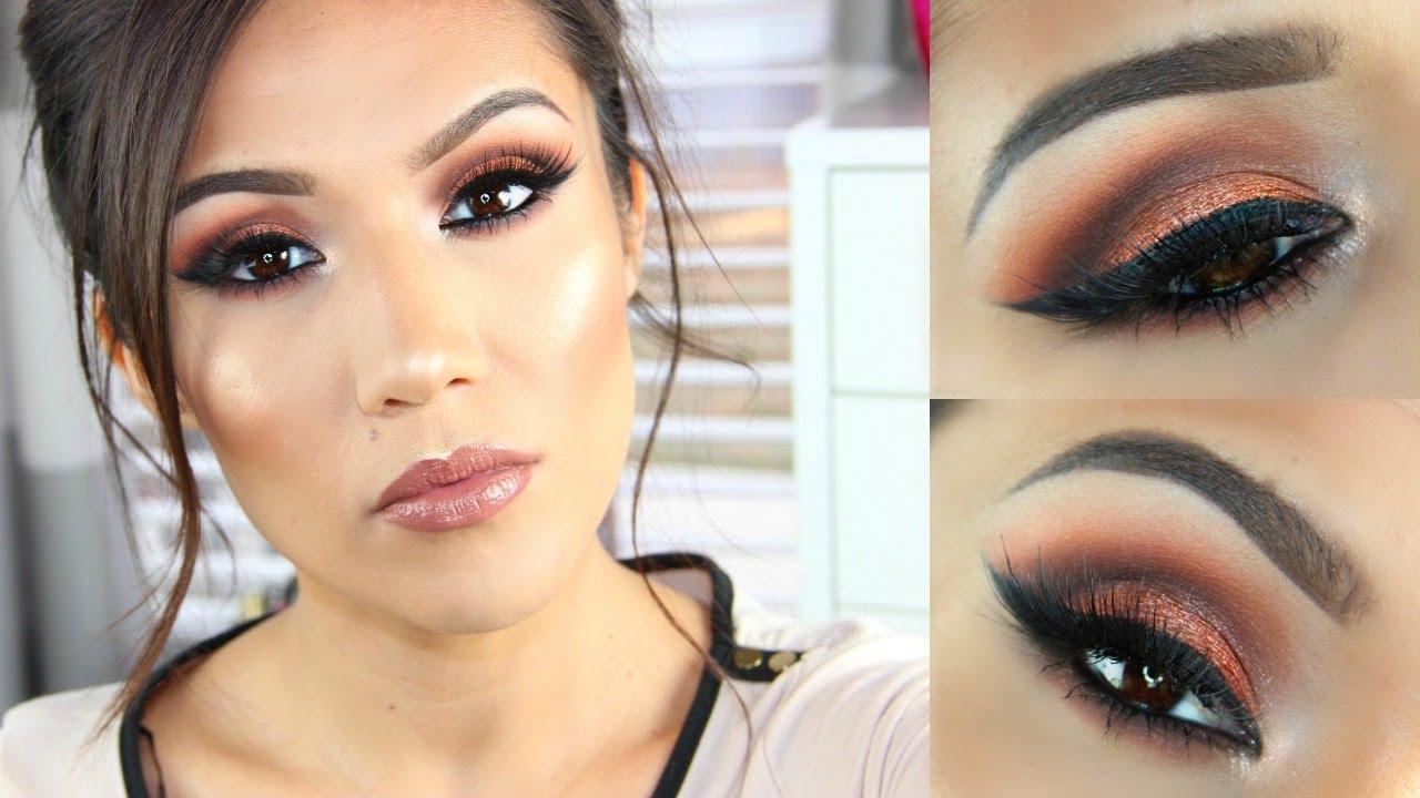 Morphe 35o Palette Makeup Tutorial Youtube