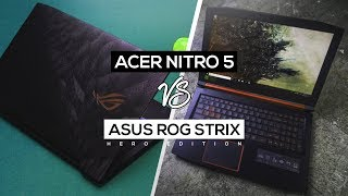 Acer Nitro 5 VS ASUS ROG Strix Hero Edition! - Which Is Best Gaming Laptop For $800?