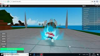 consegui o super sayan jim blu no roblox