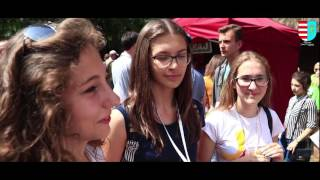 Światowe Dni Młodzieży w Muzeum Wsi Radomskiej stoiska Powiatu Przysuskiego