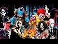 Creepypastas vs Pelis de terror || (Especial Halloween 2018) || ft. Varios Artistas