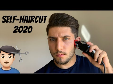 The BEST Self-Haircut Tutorial 2020 | How To Cut Your Own Hair