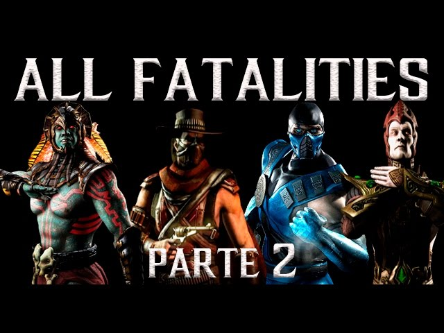 Todos Fatalities 1080p 60fps pt2