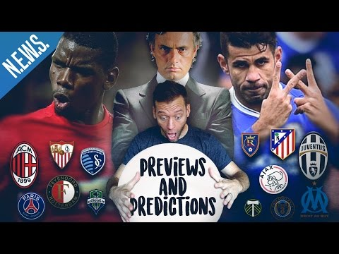 CHELSEA vs. JOSE MOURINHO - Previews & Predictions!