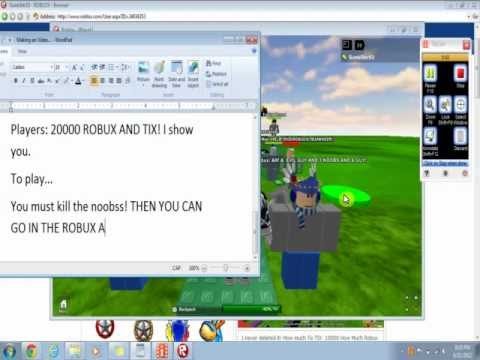 how to get free tix on roblox no download