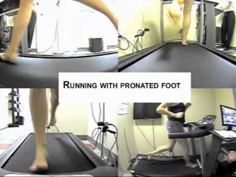 person-flat-feet-walking-on-treadmill-with-sandals,-barefoot-running-and-running-in-shoes