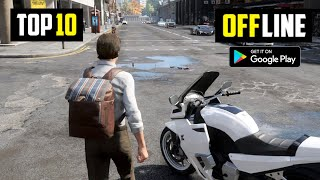 Top 10 Best OFFLINE Games For Android 2020 | 10 High Graphics OFFLINE Games For Android