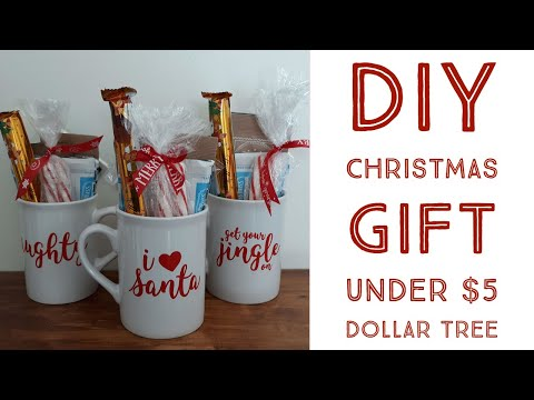 DIY Coffee Mug Gift|Dollar Tree