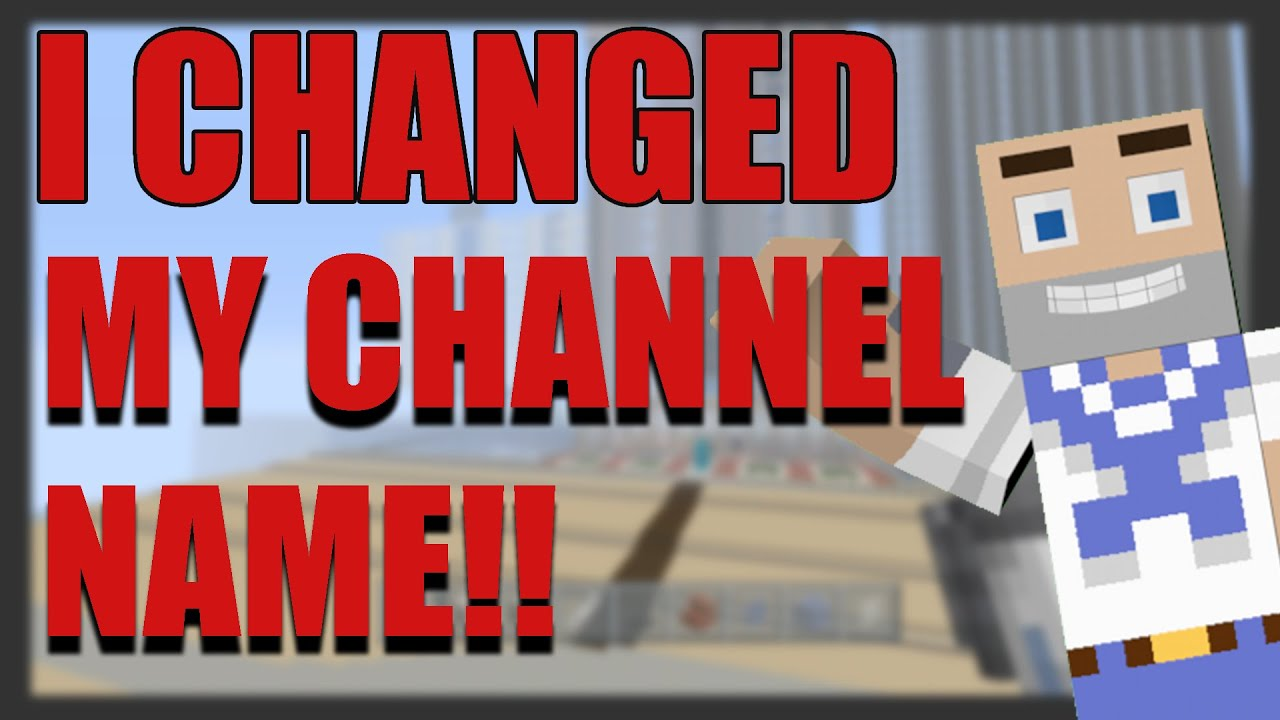 how to change channel name
