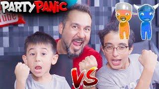 KUPAYI KİM ALACAK? EGEMEN KAAN VS EMİRHAN! | PARTY PANIC OYNUYORUZ!