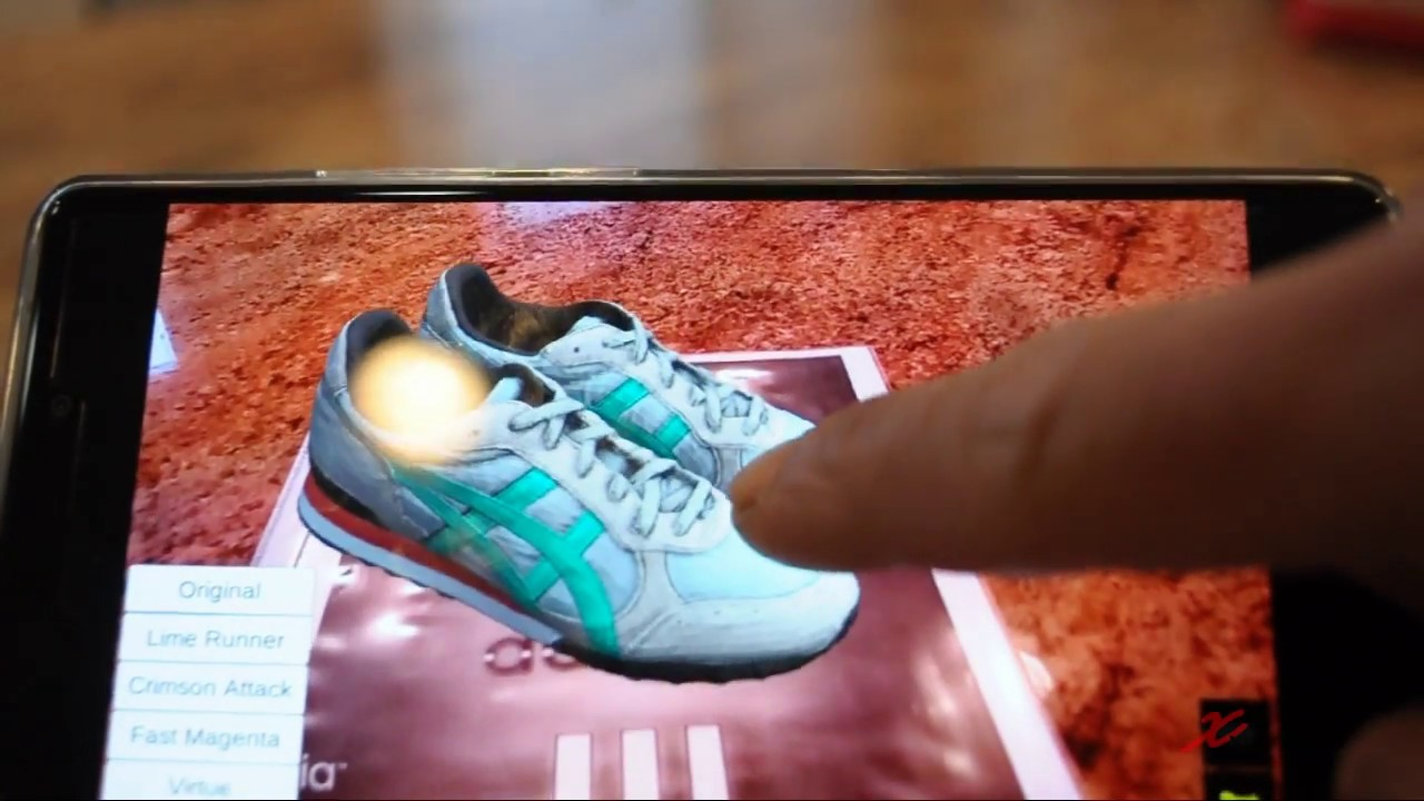 xynetar augmented reality für den adidas youtube