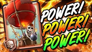 NEW & IMPROVED BALLOON CONTROL!! HIGH POWER DECK!!