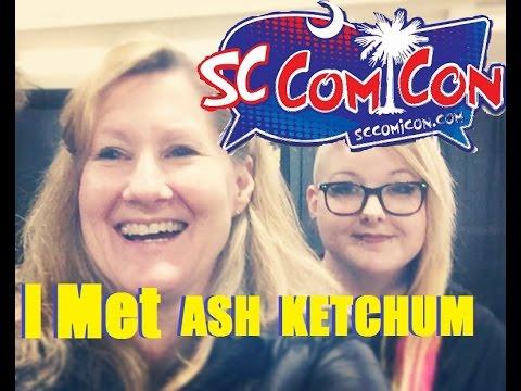VLOG- I Met Veronica Taylor!! SC Comic Con 2017