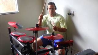 Diego Batera - Testando Bateria DD1 com Additive Drums - Metallica Cover.