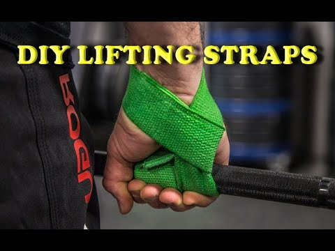 How to make LIFTING STRAPS - YouTube