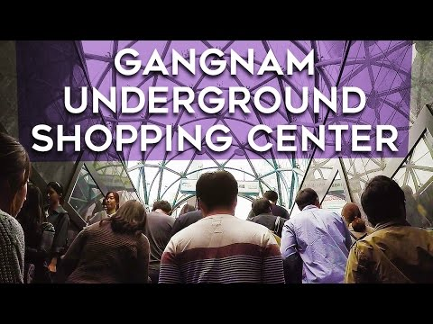 Gangnam Underground Shopping Center (강남역지하 쇼핑센터) - 🇰🇷 SEOUL WALK